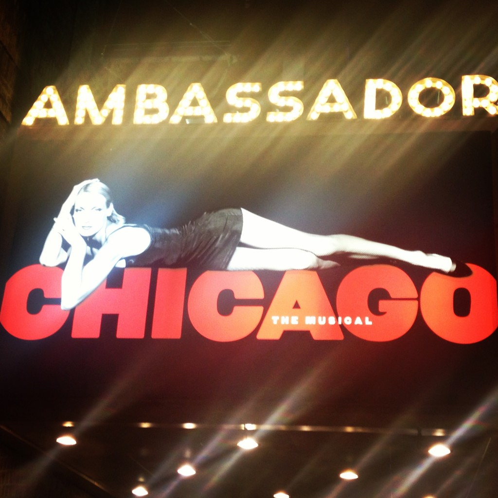 Broadway show Chicago!